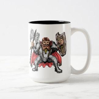 小型騎士マグ ツートーンマグカップ
