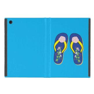 小型IPADの場合の朝顔のビーチサンダル iPad MINI ケース
