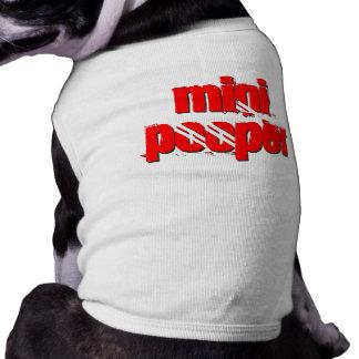 小型POOPERの小犬のワイシャツ 犬用袖なしタンクトップ