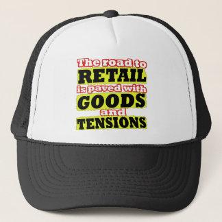 小売りの商品および張力しゃれの帽子 キャップ