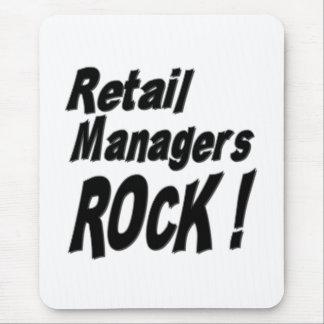 小売りマネージャーの石! マウスパッド