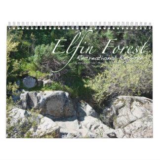小妖精の森林カレンダー カレンダー
