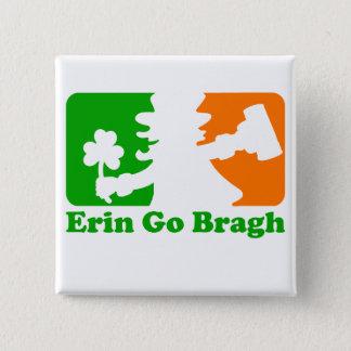 小妖精の記章: エリンはBragh行きます 5.1cm 正方形バッジ