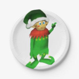 小妖精や小人のデザートまたは前菜のプレート ペーパープレート