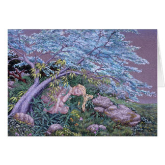 小妖精や小人の昼寝、Darlene P. Coltrain著小妖精や小人の昼寝、 カード