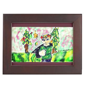 小妖精や小人の芸術2 ジュエリーボックス