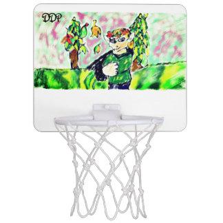 小妖精や小人の芸術2 ミニバスケットボールゴール