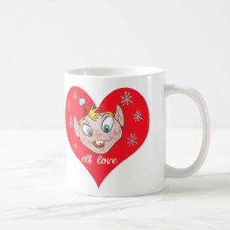 小妖精や小人のOveの風変りなマグ コーヒーマグカップ