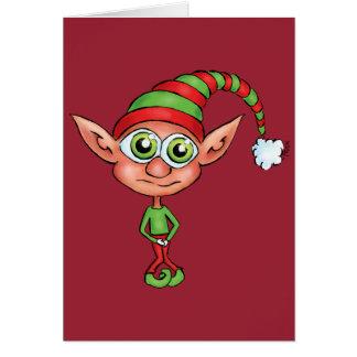 小妖精や小人は小便をするために得ました! カード