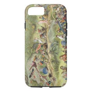 小妖精や小人王の勝利の3月、絵からの iPhone 7ケース