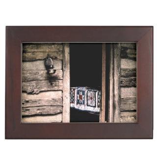 小屋のキルト ジュエリーボックス