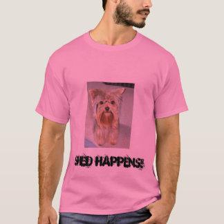 小屋は起こります! Tシャツ