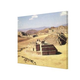 小山J、造られたc.200の眺め紀元前に キャンバスプリント