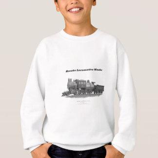 小川のCamelback機関車、ロングアイランドの鉄道 スウェットシャツ