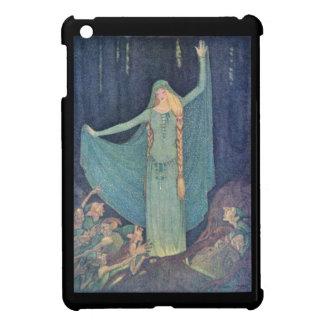 小悪魔または小妖精や小人を持つ王女の絵 iPad MINI CASE