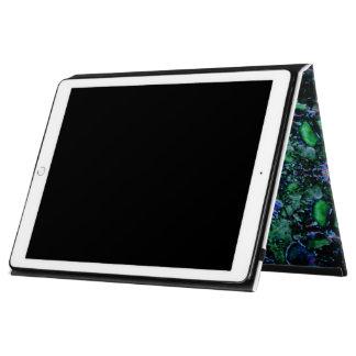 """""""小惑星"""": 緑のiPadの箱かフォリオ-サイズを選んで下さい iPad Pro 12.9"""" ケース"""