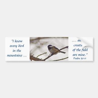 小枝の《鳥》アメリカゴガラ バンパーステッカー