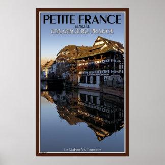 小柄いフランス-病気の川--の反射 ポスター
