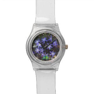 小柄い薄紫 腕時計