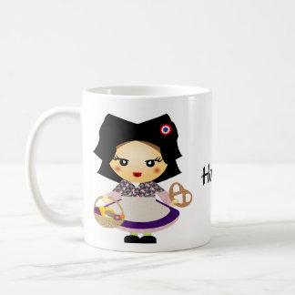 小柄いfilleのalsacienne コーヒーマグカップ