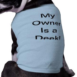 小犬のタンクトップ ペット服