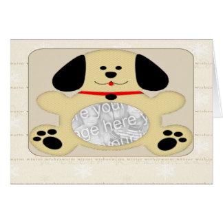 小犬の写真 カード