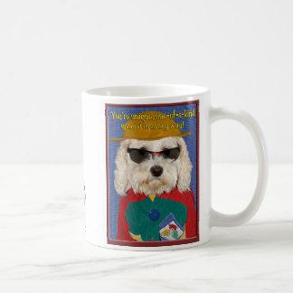 小犬の態度 コーヒーマグカップ