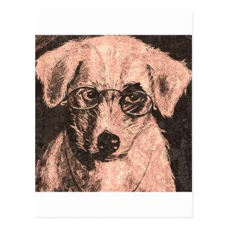 小犬の視野 ポストカード