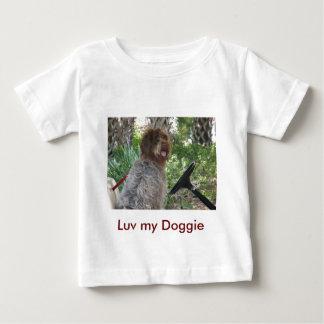 小犬の運転者 ベビーTシャツ