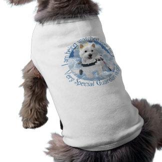 小犬のTシャツ-守り神 ペット服