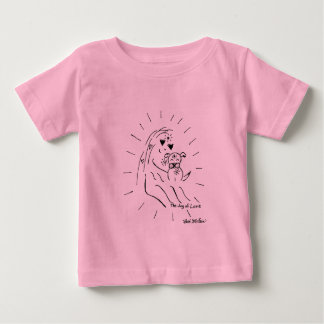「小犬愛」ベビーのワイシャツ ベビーTシャツ