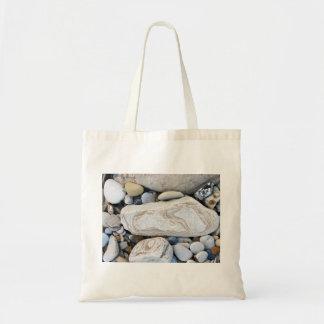 小石のバッグ トートバッグ