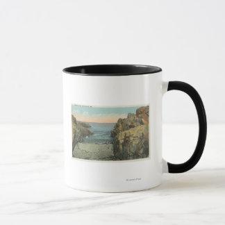 小石の入江の眺め マグカップ