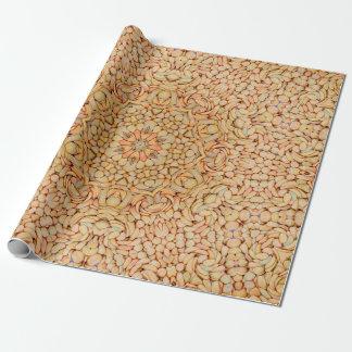 小石は包装紙、4つのスタイルを模造します ラッピングペーパー