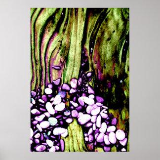 小石及び材木2 ポスター