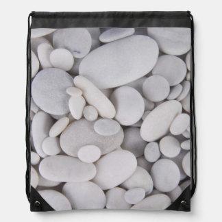 小石、石、背景 ナップサック
