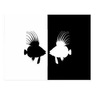 小舟(魚) ポストカード