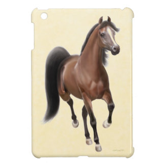 小走りに走る湾のアラビアの馬のiPad Miniケース iPad Mini カバー