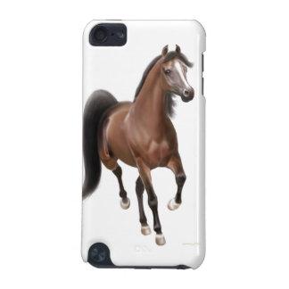 小走りに走る湾のアラビアの馬のipod touch 4Gの場合 iPod Touch 5G ケース