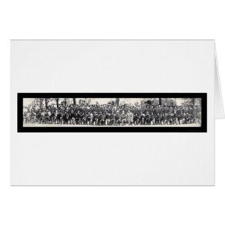 小銃手WWIの写真1917年 カード