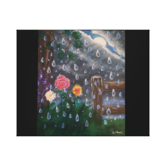 小雨の嵐 キャンバスプリント