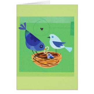 小鳥家族 カード