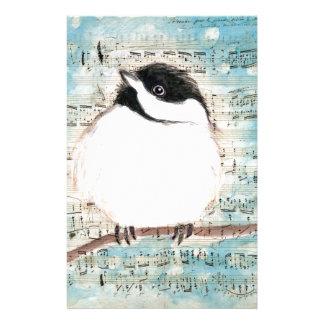 小鳥音楽歌 便箋