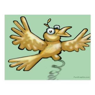 小鳥 ポストカード