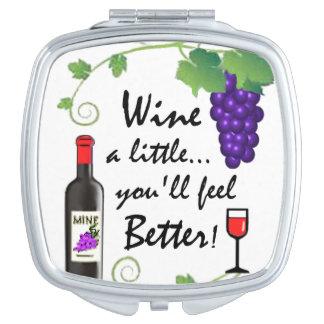 …少しはワインを飲みます