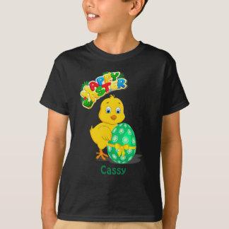 少しイースター鶏の漫画 Tシャツ
