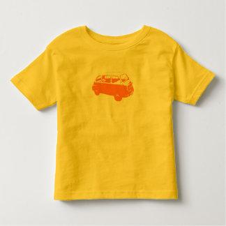 少しオレンジバス トドラーTシャツ
