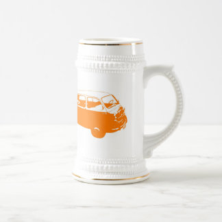 少しオレンジバス ビールジョッキ
