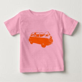 少しオレンジバス ベビーTシャツ