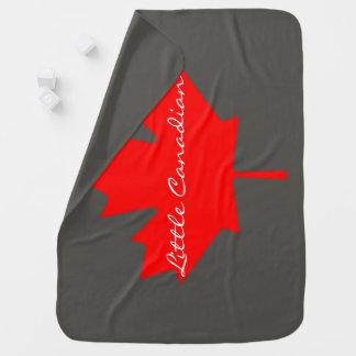 少しカナダのカナダのアメリカハナノキの葉   毛布 ベビー ブランケット